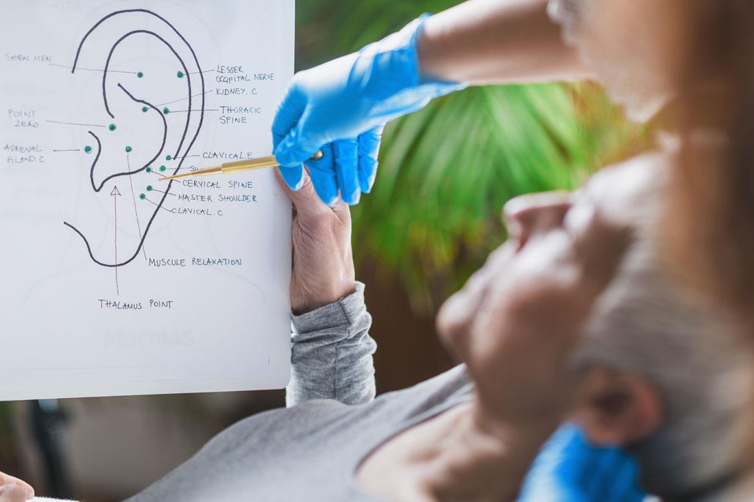 Akupunktur beim HNO Arzt