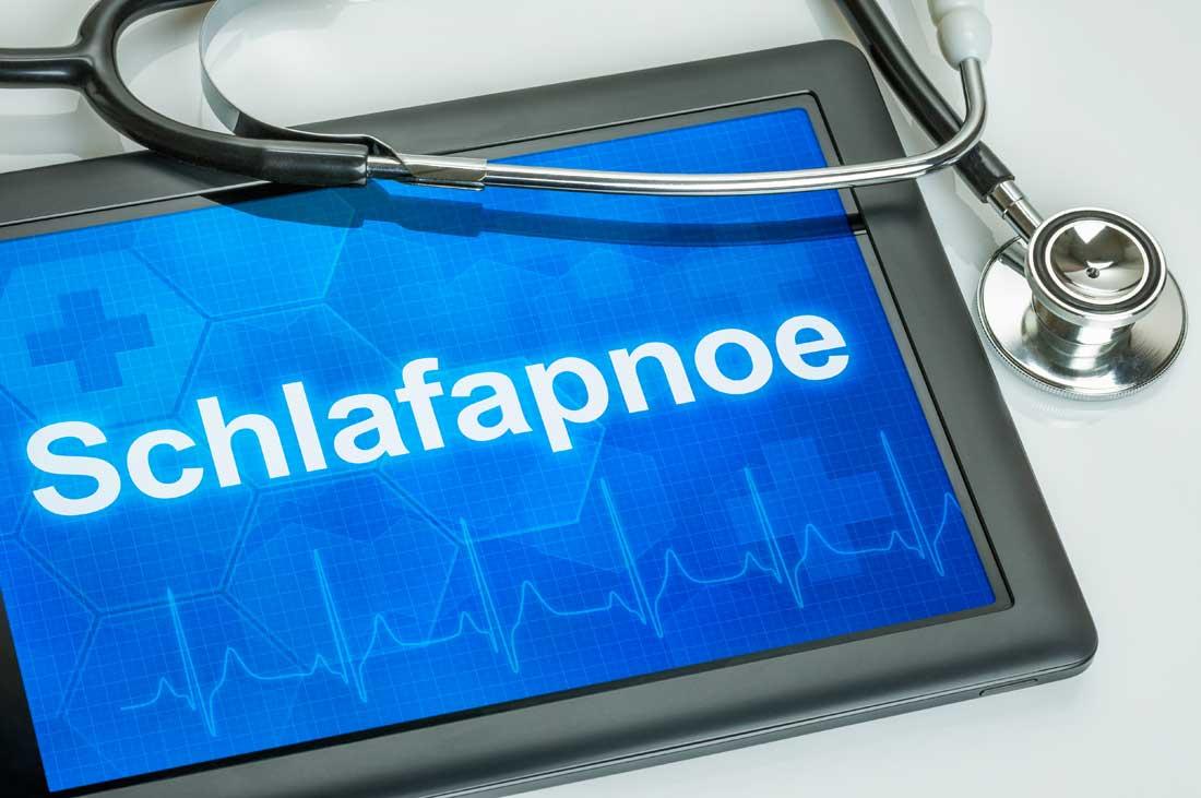 chlafapnoe - Schnarchdiagnostik und -therapie